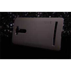 Пластиковый матовый нескользящий премиум чехол для ASUS ZenFone 2 Laser 6