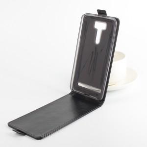 Чехол вертикальная книжка на силиконовой основе с магнитной застежкой для ASUS ZenFone 2 Laser 6