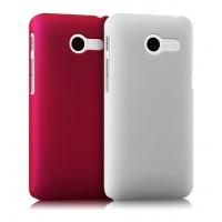 Пластиковый чехол серия Metallic для ASUS Zenfone 4 (A400CG) Пурпурный