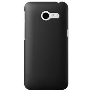 Пластиковый чехол серия Metallic для ASUS Zenfone 4 (A400CG) Черный