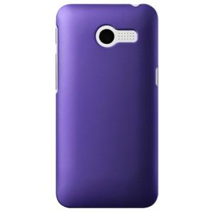 Пластиковый чехол серия Metallic для ASUS Zenfone 4 (A400CG) Фиолетовый