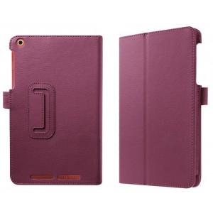 Чехол подставка с рамочной защитой экрана для Acer Iconia One 8 B1-830 Фиолетовый