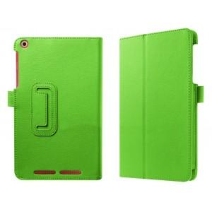 Чехол подставка с рамочной защитой экрана для Acer Iconia One 8 B1-830 Зеленый
