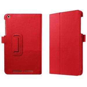 Чехол подставка с рамочной защитой экрана для Acer Iconia One 8 B1-830 Красный