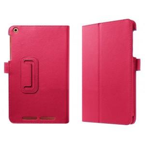 Чехол подставка с рамочной защитой экрана для Acer Iconia One 8 B1-830 Розовый