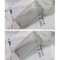 Силиконовый X чехол для HTC One mini 2 Серый