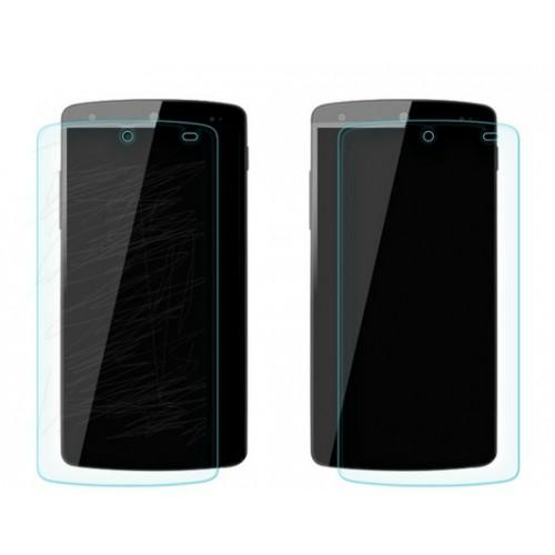 Ультратонкое износоустойчивое сколостойкое олеофобное защитное стекло-пленка для Google Nexus 5