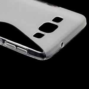 Силиконовый S чехол для Samsung Galaxy A3 Белый