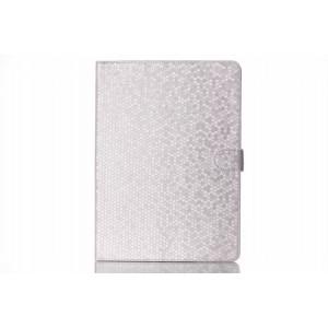 Чехол книжка подставка текстура Алмаз на поликарбонатной основе с магнитной защелкой для Samsung Galaxy Tab S 10.5