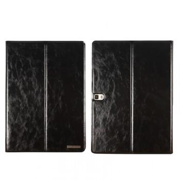 Глянцевый водоотталкивающий чехол книжка подставка на поликарбонатной основе с отделениями для карт для Samsung Galaxy Tab S 10.5