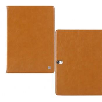 Кожаный чехол книжка подставка на поликарбонатной основе подставка для Samsung Galaxy Tab S 10.5