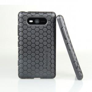 Ультразащитный чехол для Nokia Lumia 820 Черный