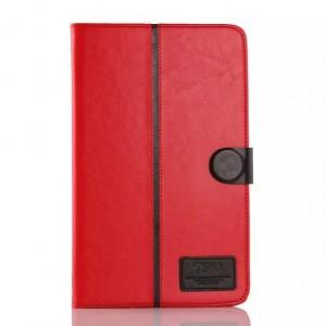 Глянцевый водоотталкивающий чехол книжка подставка на силиконовой основе с отделениями для карт и магнитной защелкой для Samsung Galaxy Tab E 9.6