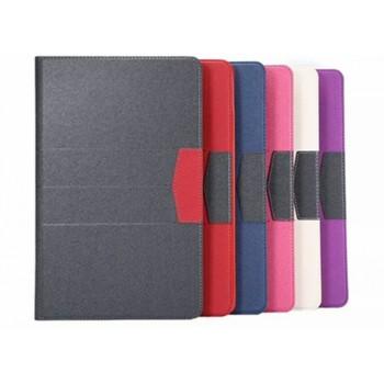 Чехол книжка подставка на силиконовой основе с отделениями для карт для Samsung Galaxy Tab E 9.6