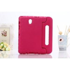 Ударостойкий детский силиконовый гиппоалергенный чехол с подставкой для Samsung Galaxy Tab S 8.4