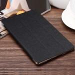 Сегментарный чехол книжка подставка текстура Линии на поликарбонатной транспарентный основе для Samsung Galaxy Tab S 8.4