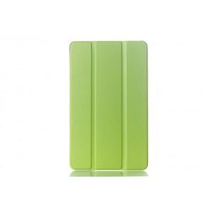 Сегментарный чехол книжка подставка на поликарбонатной основе для Samsung Galaxy Tab S 8.4 Зеленый