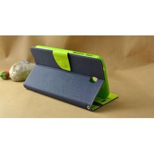 Чехол книжка подставка на силиконовой основе с отделениями для карт и магнитной защелкой для Samsung Galaxy Tab S 8.4