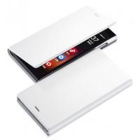 Чехол флип серия Metallic для ASUS Zenfone 5 Белый