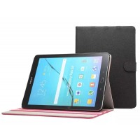 Чехол книжка подставка на поликарбонатной основе с магнитной защелкой для Samsung Galaxy Tab S2 8.0