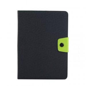 Чехол книжка подставка на силиконовой основе с отделениями для карт и магнитной защелкой для Samsung Galaxy Tab S2 8.0 Черный