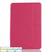 Оригами чехол книжка подставка на силиконовой основе для Samsung Galaxy Tab S2 9.7 Пурпурный