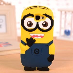 Силиконовый дизайнерский фигурный чехол для Samsung Galaxy A7 (2016)