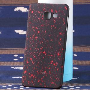 Пластиковый матовый дизайнерский чехол с голографическим принтом Звезды для Samsung Galaxy A7 (2016)