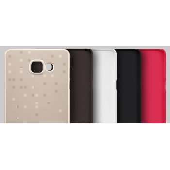 Пластиковый матовый нескользящий премиум чехол для Samsung Galaxy A7 (2016)