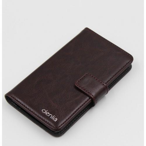 Клеевой чехол портмоне подставка с магнитной защелкой для Acer Liquid E700 Розовый