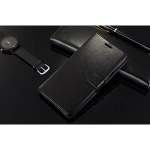 Глянцевый чехол портмоне подставка с защелкой для Samsung Galaxy A7 (2016)