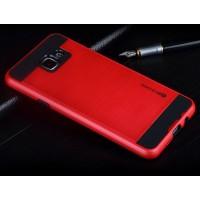 Гибридный чехол накладка силикон/поликарбонат для Samsung Galaxy A7 (2016) Красный