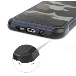 Двухкомпонентный чехол с силиконовой подложкой и поликарбонатной накладкой Камуфляж для Samsung Galaxy A5 (2016)