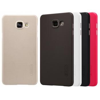 Пластиковый матовый нескользящий премиум чехол для Samsung Galaxy A5 (2016)