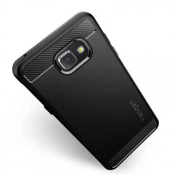Гибридный чехол накладка силикон/поликарбонат премиум для Samsung Galaxy A5 (2016)