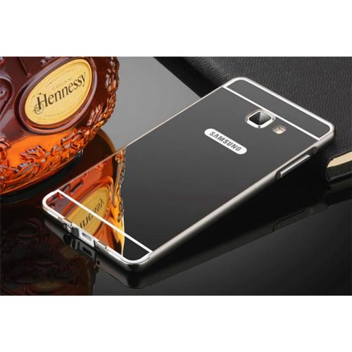 Гибридный металлический двухкомпонентный чехол с поликарбонатной крышкой с зеркальным покрытием для Samsung Galaxy A5 (2016)