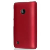 Пластиковый чехол для Nokia Lumia 530 Красный