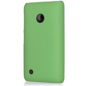 Пластиковый чехол для Nokia Lumia 530 Зеленый