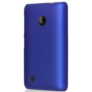 Пластиковый чехол для Nokia Lumia 530 Синий