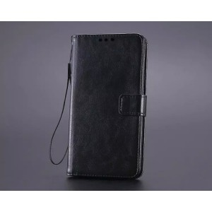 Глянцевый чехол портмоне подставка на магнитной защелке с отсеком для карт для Samsung Galaxy A5 (2016)
