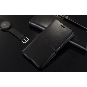 Глянцевый чехол портмоне подставка с защелкой для Samsung Galaxy A5 (2016)