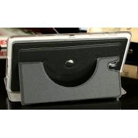 Роторный чехол книжка подставка на силиконовой основе для Samsung Galaxy Tab S 8.4