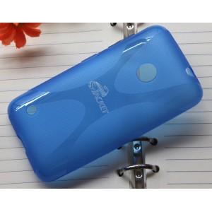 Силиконовый чехол X для Nokia Lumia 530 Синий