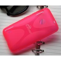 Силиконовый чехол X для Nokia Lumia 530 Пурпурный