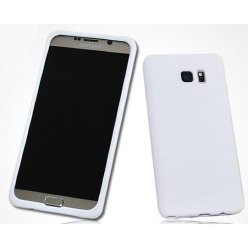 Силиконовый матовый нескользящий премиум софт-тач чехол для Samsung Galaxy Note 5