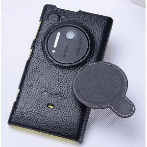 Кожаный чехол накладка для Nokia Lumia 1020