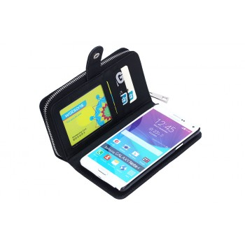 Многофункциональный бумажник/портмоне/чехол для Samsung Galaxy S5