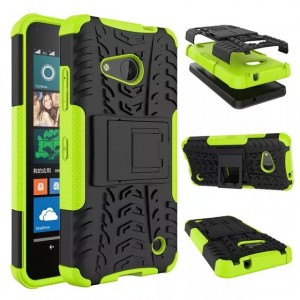 Антиударный гибридный чехол экстрим защита силикон/поликарбонат для Microsoft Lumia 550