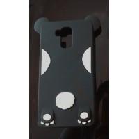 Силиконовый дизайнерский фигурный чехол для Huawei Honor 5X Черный