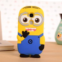 Силиконовый дизайнерский фигурный чехол для Huawei Honor 5X Голубой